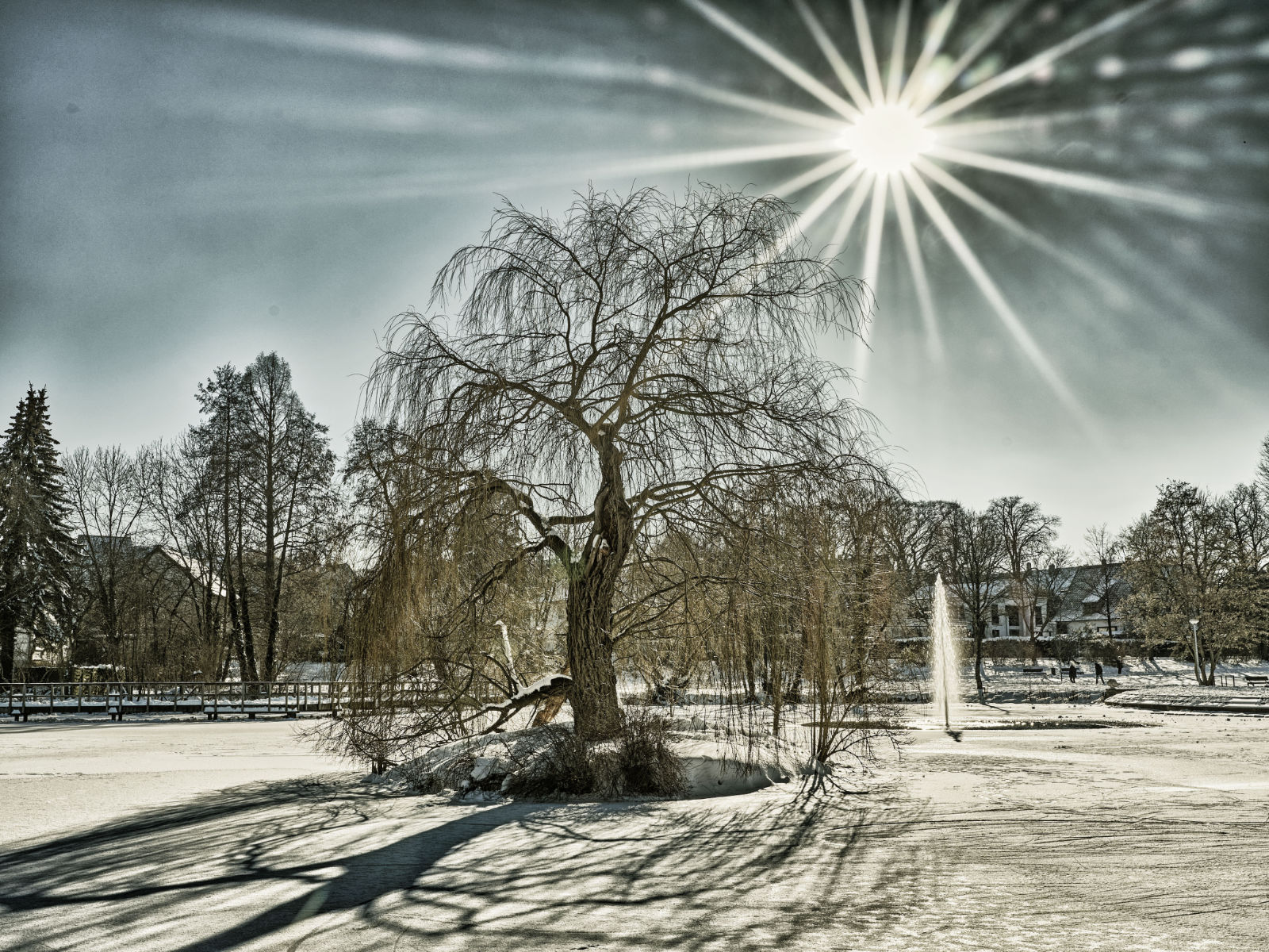 Das Bild wurde mit NIK Color Efex bearbeitet.