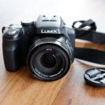 Foto einer Bridgekamera von Panasonic (FZ 300)