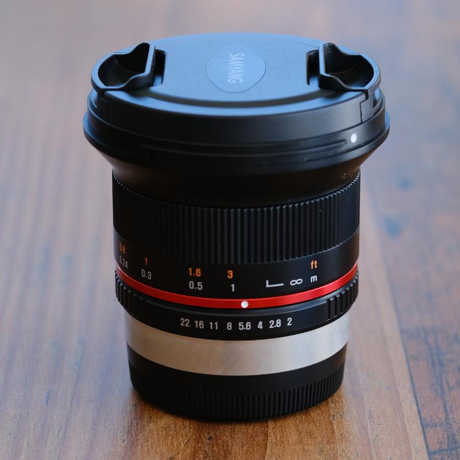 12 mm 1.4 Samyang Festbrennweite ohne Autofokus